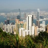Hongkong mäe otsast
